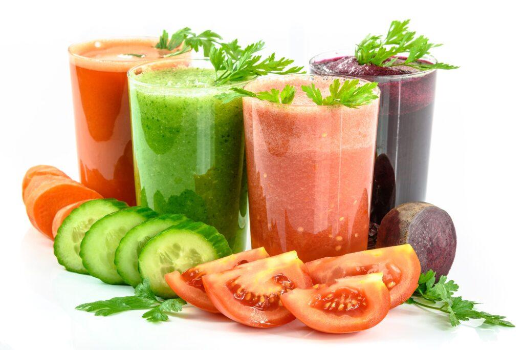 種類豊富な野菜ジュース