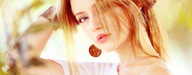 美容も気を使う綺麗な女性