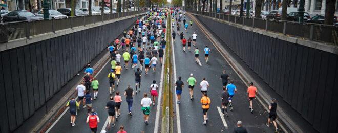大会に運動やダイエットの為に走る